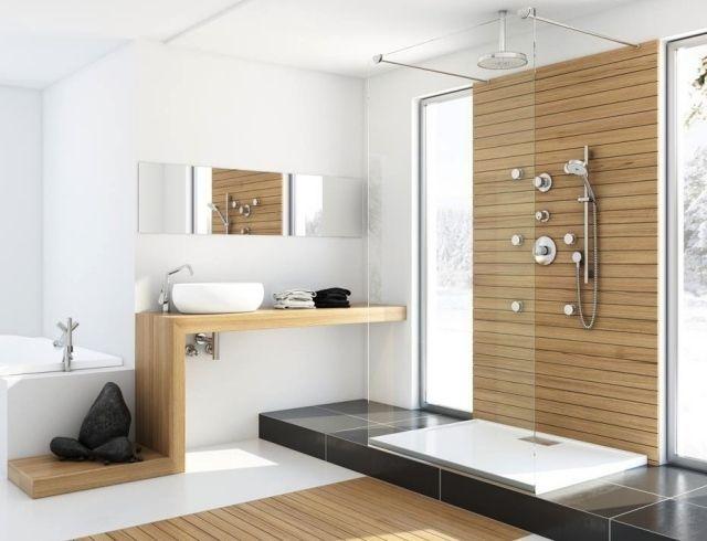 Holzboden Im Badezimmer Sorgt Für Ein Gemütliches Und Wohnliches Ambiente  Und Verleiht Dem Raum Charme Und Individualität. Doch Welche Holzarten Dabei
