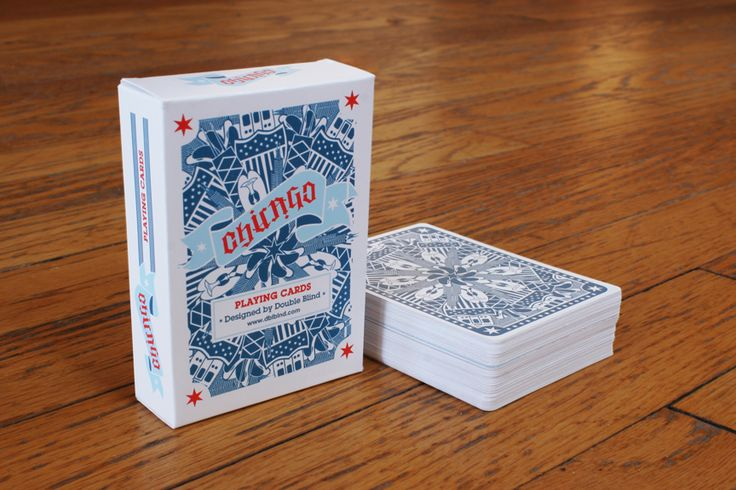 Double Blind Collective - Chicago Playing Cards | more here: http://playingcardcollector.net/2013/05/17/chicago-playing-cards-by-double-blind-collective/