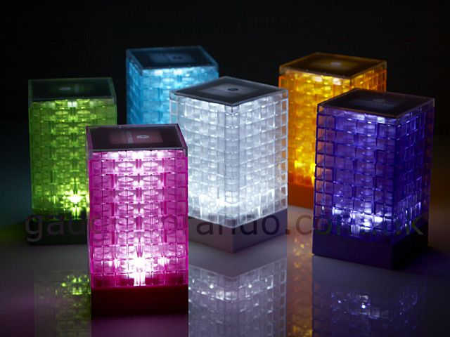 Lego Light! See through legos and a tea light. I could make that.