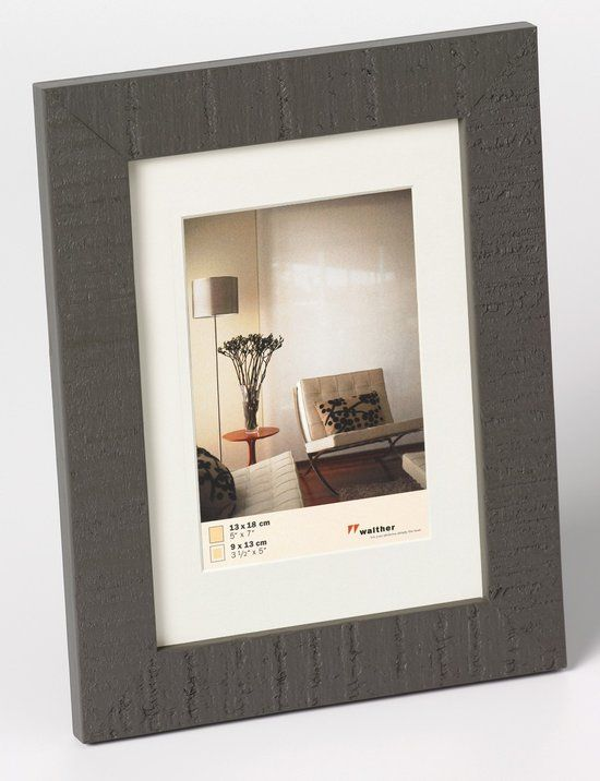 Walther Home - Fotolijst - Fotomaat 50x50 cm - Grijs