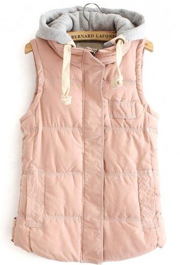 pink cotton vest