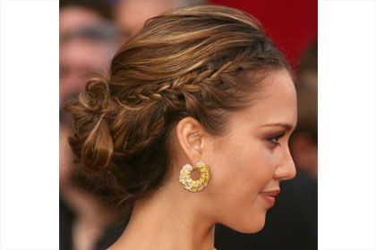 Very chic braid but still casual.