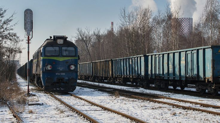 ST44-1250 Trains in Poland