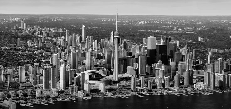 Toronto Arial View