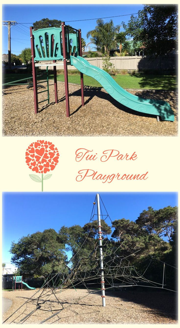 Tui Park Playground Auckland: Awesome Playground with a Pyramid Climbing Frame and Some Skate Boarding Space! Fun for the Little Ones!