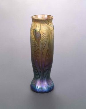 Vase - Louis Comfort Tiffany, early 20th c. Brooklyn Museum