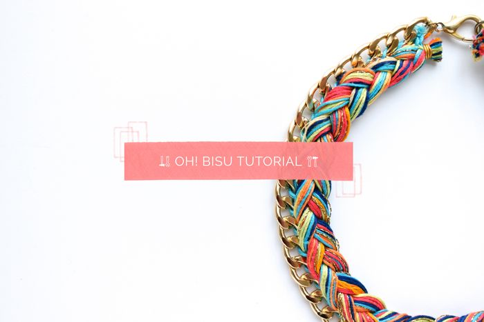Tutorial collar trenzado por Oh!Macedonia