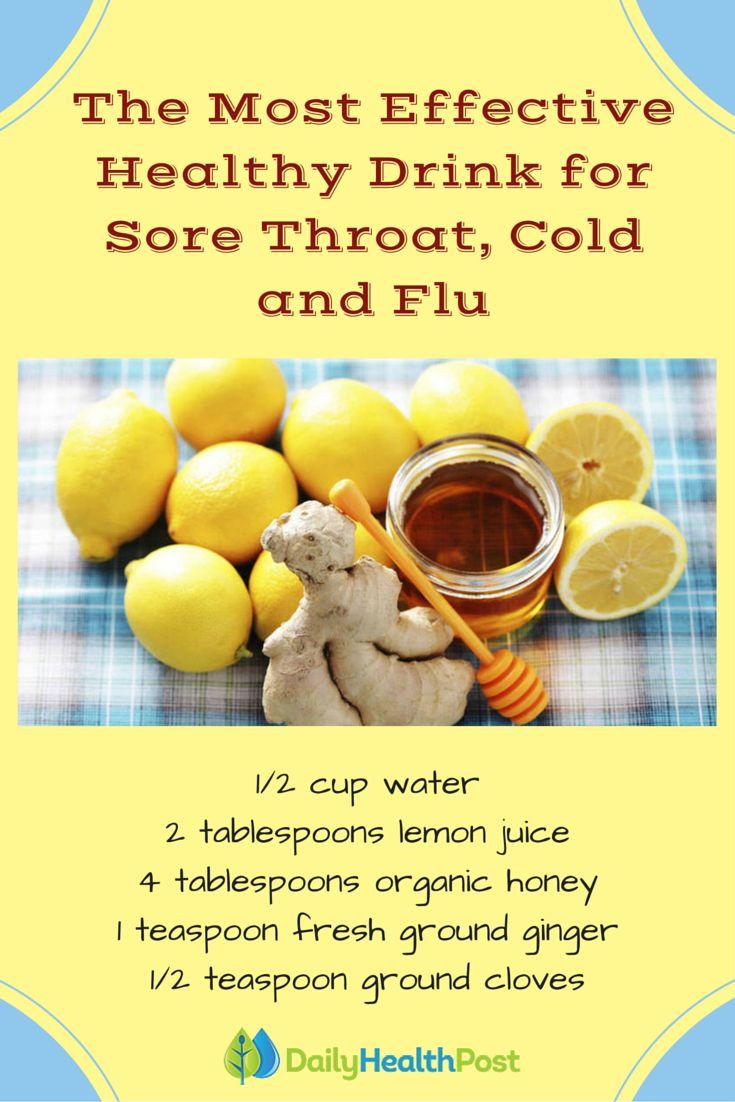 Splendidly Lovely treatment of sore throat