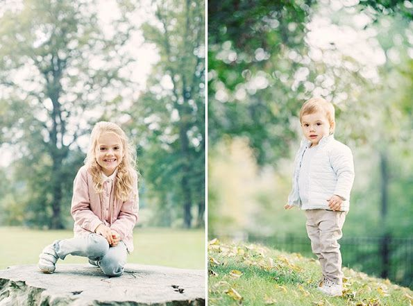 The Swedish Royal Court has updated HRH Princess Estelle's and HRH Prince Oscar's page that is at the website with a new photo, taken by Erika Gerdemark. Nov 2017