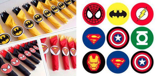 manualidades_ideas_fiestas_infantiles_servilleteros_de_superheroes