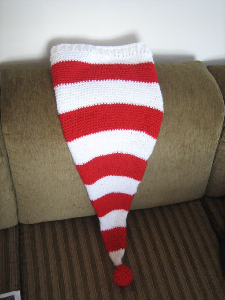 Knitted Stocking Hat Pattern 39