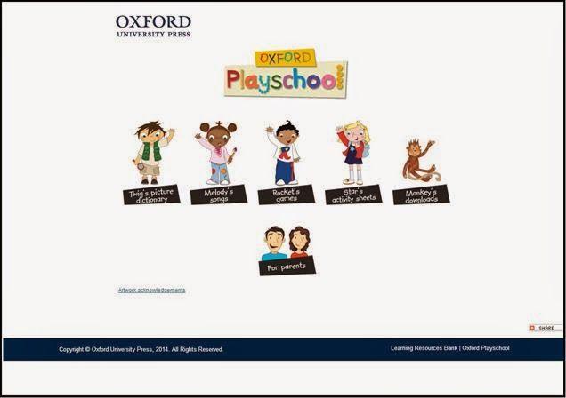 Actividades digitales interactivas de la Editorial Oxford