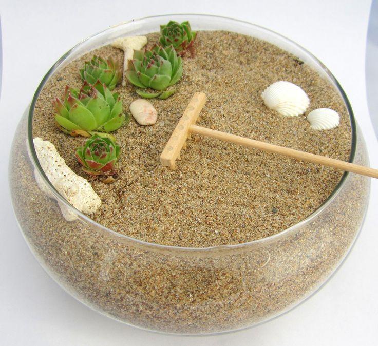 Die besten 25+ Zen garten mini Ideen auf Pinterest Miniatur - pflanzen fur japanischen garten