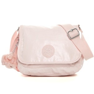 Maceio Cross-Body Bag in Pearlized Sweet Pink #Kipling