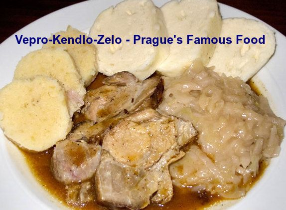 Vepřo-knedlo-zelo is a famous local food in Prague. You must taste this food during visit in Prague. #Praguefood