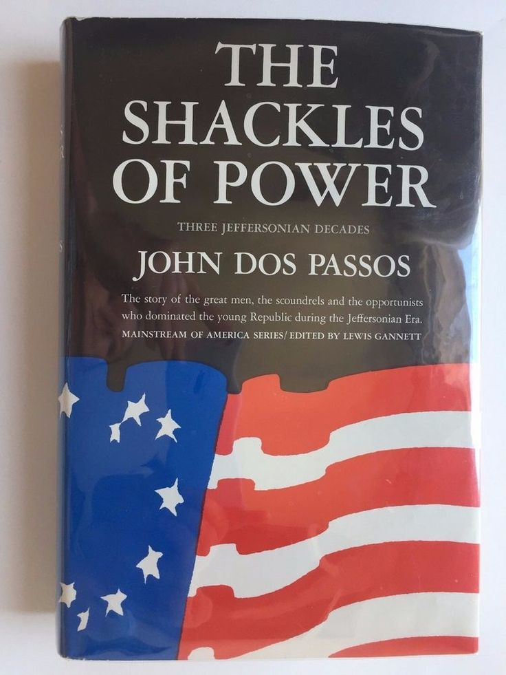The Shackles of Power by John Dos Passos, First Edition, 1966, Hardcover 1st Ed.