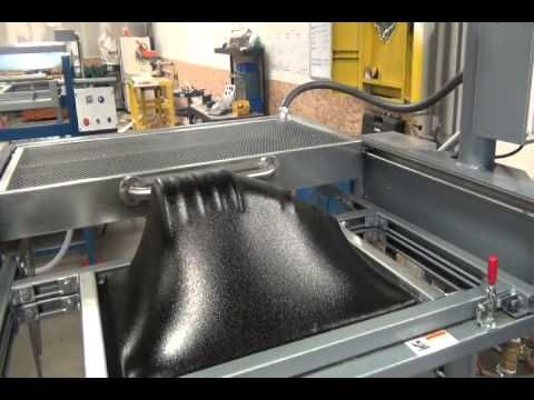 """Vacuum Forming 1/4"""" ABS plastic Deep Draw - YouTube"""