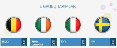 #Euro2016 - E Grubu