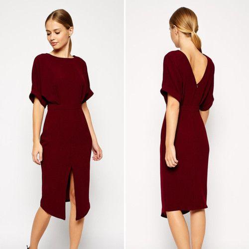 Los mejores vestidos de fiesta con un bonito escote en la espalda. Zara, H&M, Asos, TopShop y otras marcas de moda para lucir la espalda al aíre en otoño. Fo...