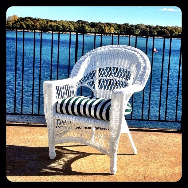 Cool By The Pool, In Our Casual Outdoor #wicker Chair. Wicker.tw