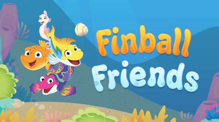 Play Finball Friends with Splash, Bubbles, Dunk, and Ripple from the new PBS KIDS series Splash and Bubbles in Reeftown. Pick your player and use your fins to bounce the pebble back and forth across the sea — like a game of pinball! Listen up for underwater facts as you go.