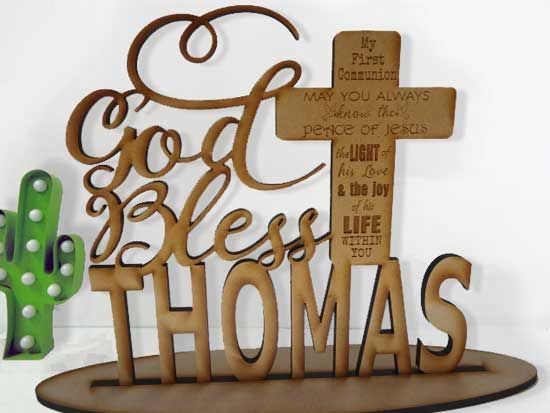 gorgeous idea for holy communion or baptism @funkyletters.com ©