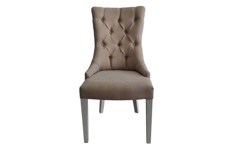 custom made dining chair, made of solid oak and fabric, interior design