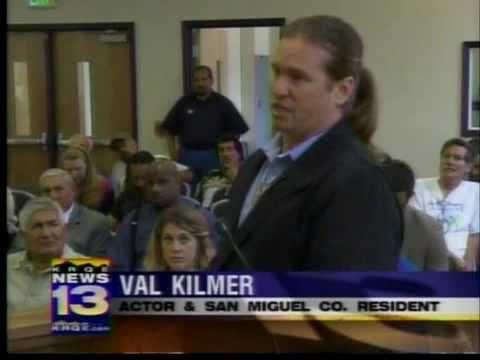 VAL KILMER ANS ENTERTAINMENT INTERVIEW - YouTube