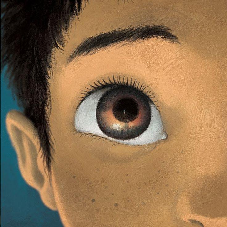 """Poly Bernatene illustration for """"Cuando no llega la noche""""."""