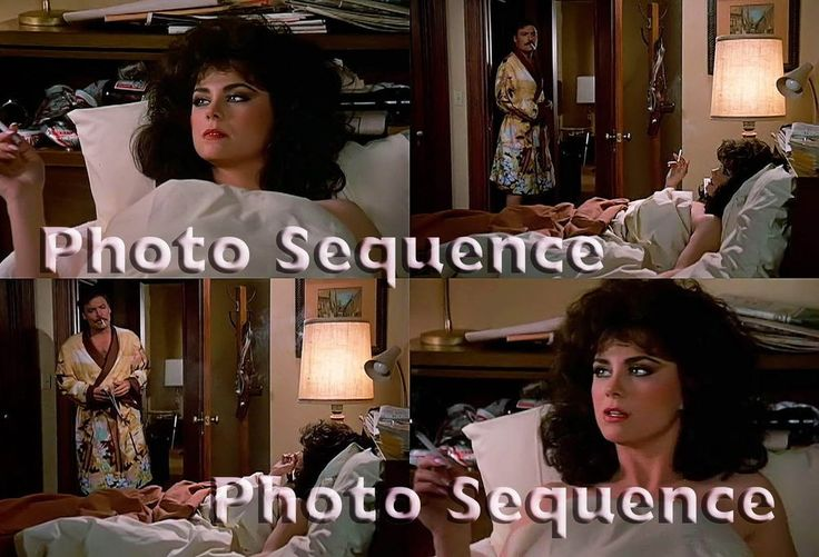 MIKE HAMMER Delta Burke Stacy Keach PHOTO Sequence #13