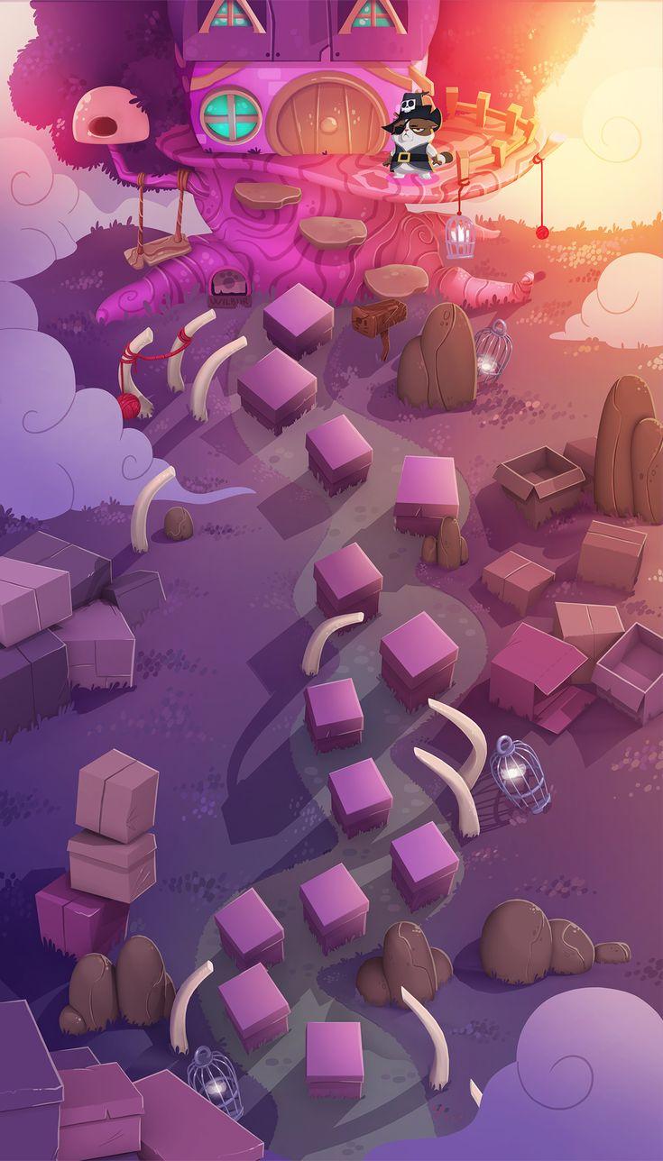 Bubble Witch 3 Saga Envelope on Behance