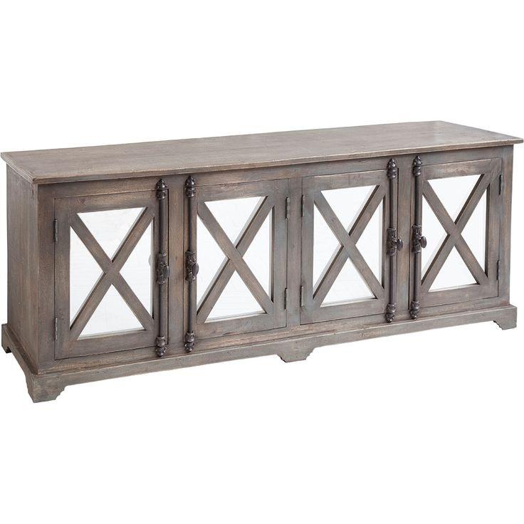 50236 Stanley Cabinet W 72 D 18 H 27 #6Foot $1500 #MirrorFront