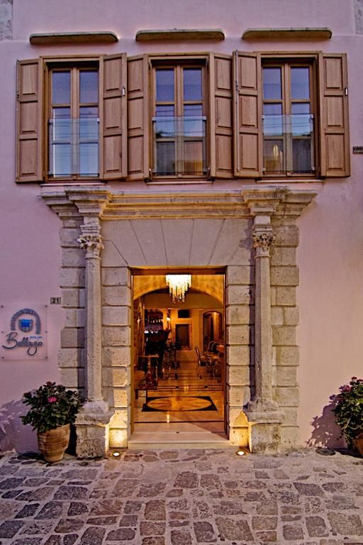Bellagio Luxury Boutique Hotel    Set in the picturesque alleys of Rethymnons' Old Town, right across the public library, the Bellagio Luxury Boutique Hotel offers charming accommodations with spa baths and flat screen TVs.