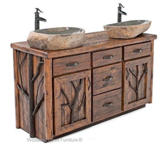 43 Best Vanities Images On Pinterest Rustic Vanity