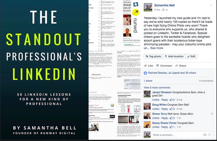 Improve your Linkedin Profile :) It's sensational to see wide interest in this guide via Facebook
