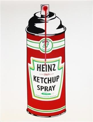 Heinz Ketchup Spray, 2010  Mr. Brainwash