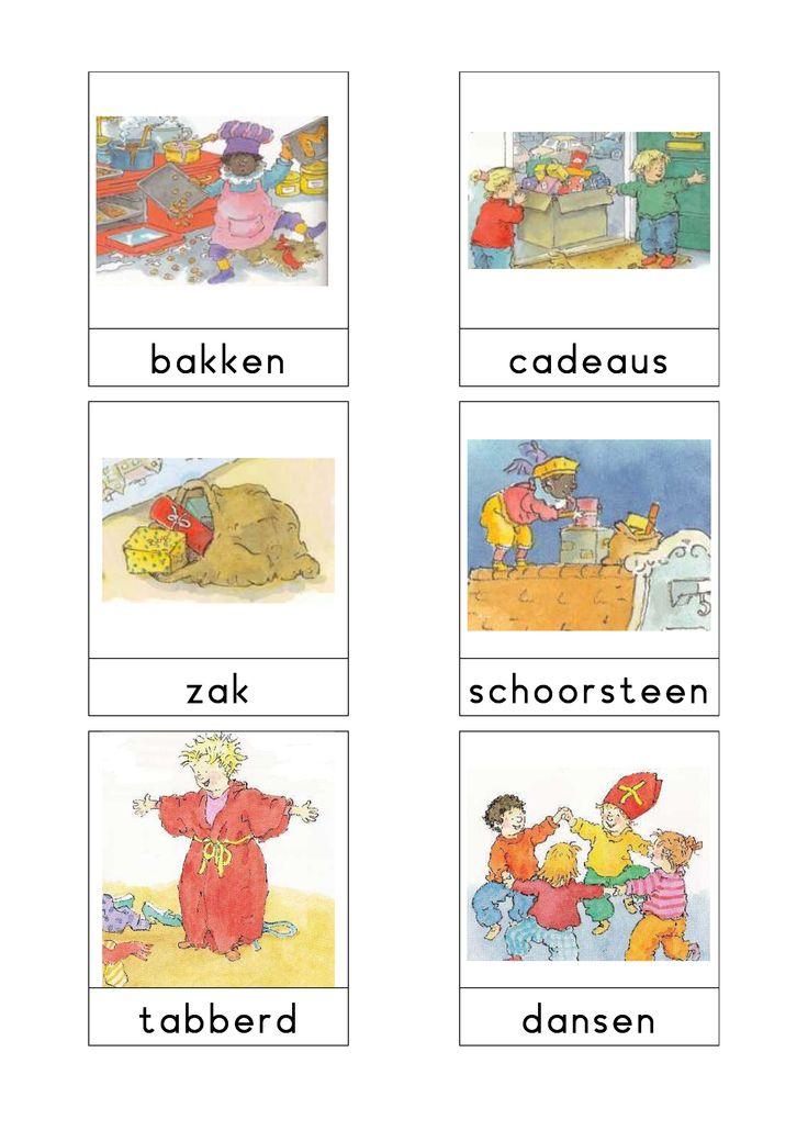 Woordkaarten 'Sint' 4