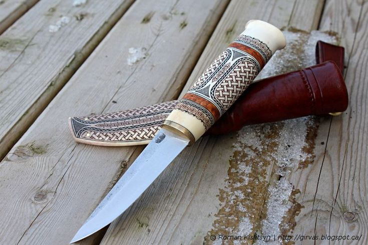Sami style knife for a friend - Abyrvalg