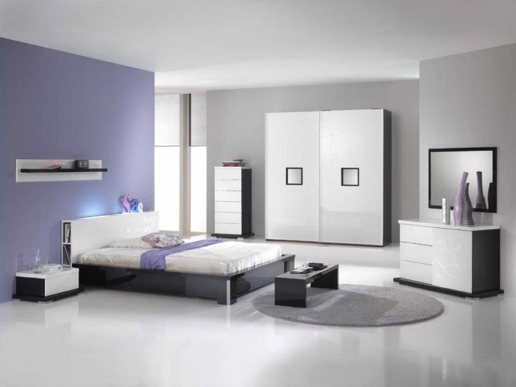 Modern White Bedroom Furniture Sets