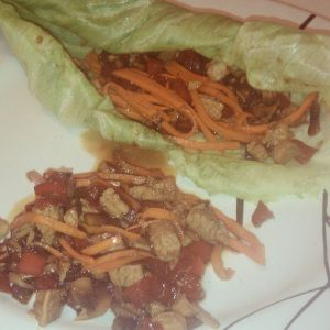 Asian Chicken Lettuce Wraps. Taste just like Kona Grill and PF Changs.