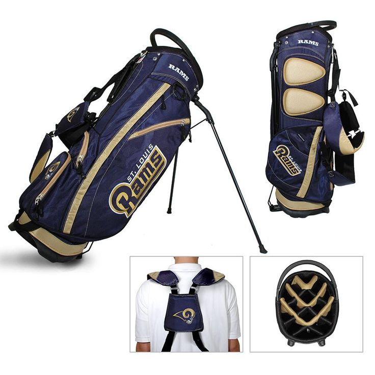 St. Louis Rams NFL Stand Bag - 14 way Fairway