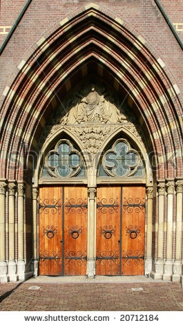 Image detail for -. church doors with iron hinges and stained glass (Amsterdam Holland & 171 best Just Doors images on Pinterest | Windows Front doors and ... Pezcame.Com