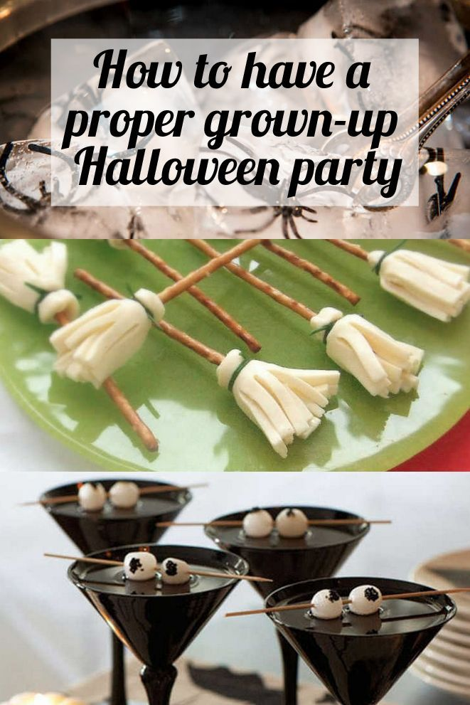 The ultimate guide to throwing a Halloween party for proper grownups.