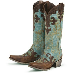 Ladies - Dawson Turquoise Cowboy Boot - The Stagecoach West     I am in love with these boots:)