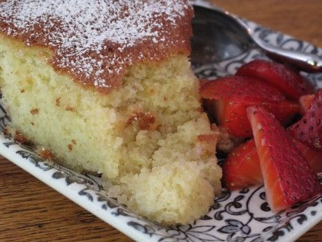 Almond cake - gluten free, you can substitute 6 oz. of almond flour in place of pulsing 6 oz. of slivered, blanched almonds.
