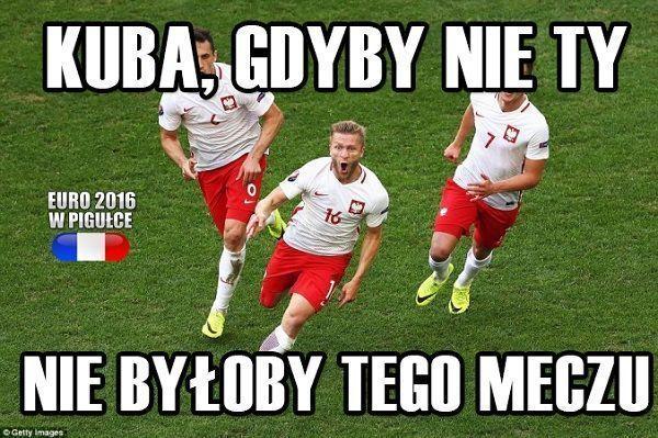 Kuba, gdyby nie ty nie byłoby tego meczu • Memy piłkarskie po meczu Polska Portugalia - Euro 2016 • Jesteśmy z Tobą • Zobacz więcej >> #pol #polska #portugalia #euro #euro2016 #football #soccer #sports #pilkanozna #blaszczykowski