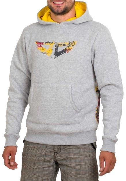 A/C Sweatshirt Melange - Některé věci jsou jednoduché jako facka. A taky tak sedí. Evropský matroš, ještě evropštější výroba, v černé či šedé s extra fíčurama v kapuci. Fešácká záležitost.