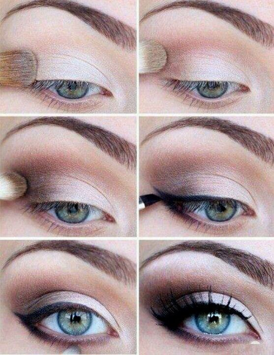 Smokey Eye : Elegant Smokey Eye Makeup Tutorial For Blue Eyes Smokey Eye Makeup Tutorial Especially for Small Eyes Brown Smokey Eye. Kim Kardashian Smokey Eye Makeup Tutorial. Eyeshadow For Blue Eyes.