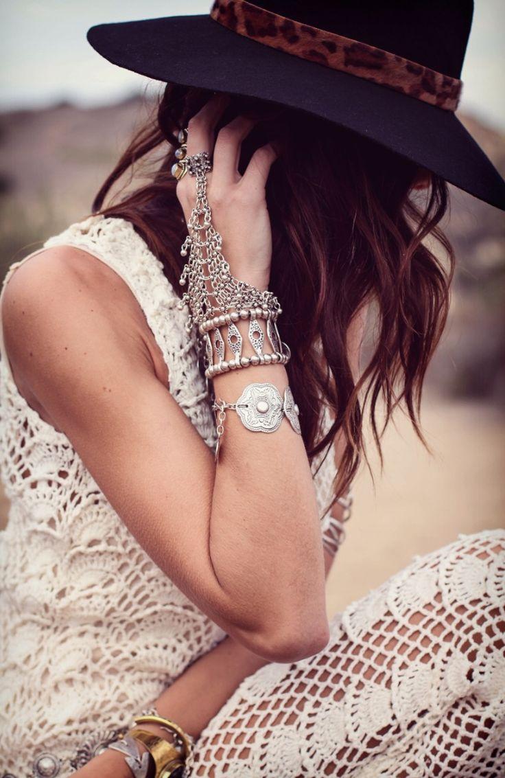 @St. Eve Jewelry  @IVANAREVIC wearing the bazaar hand piece  saintevejewelry.bigcartel.com photography @Adriana Falcon