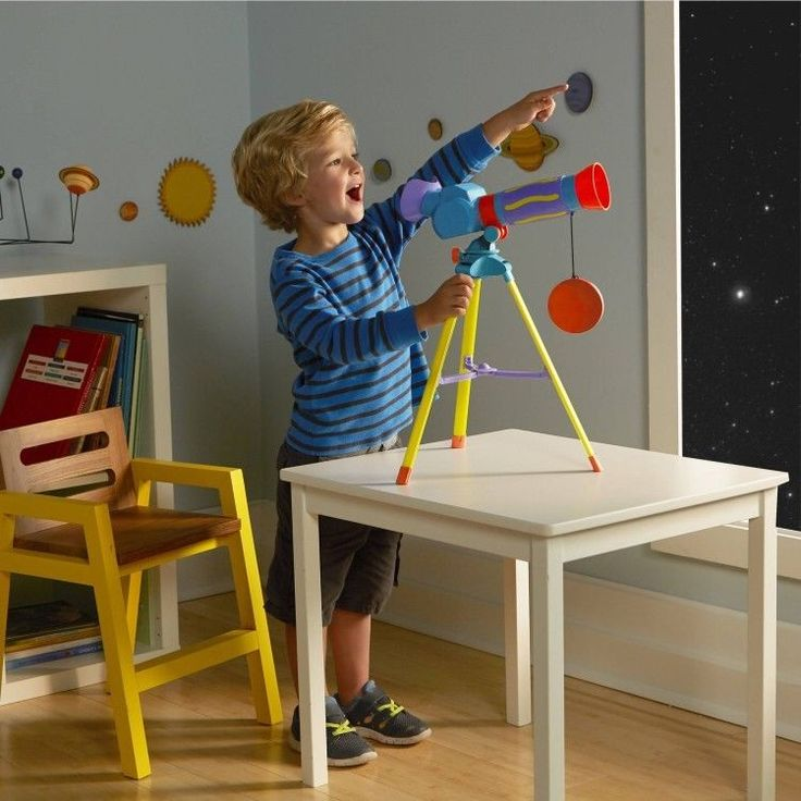 Educational Toddler Toy 5-7 Years First Telescope Learning Play Multicolor #easy_shopping08